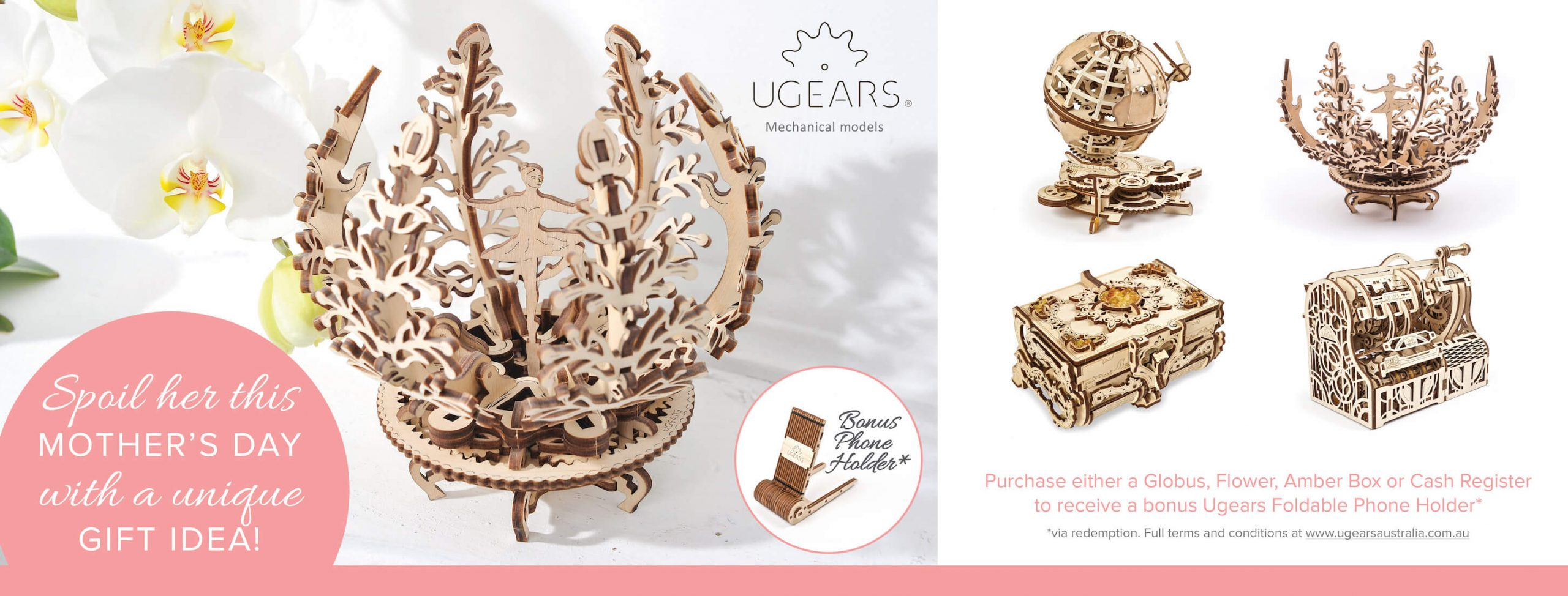 Ugears Mothers Day Special